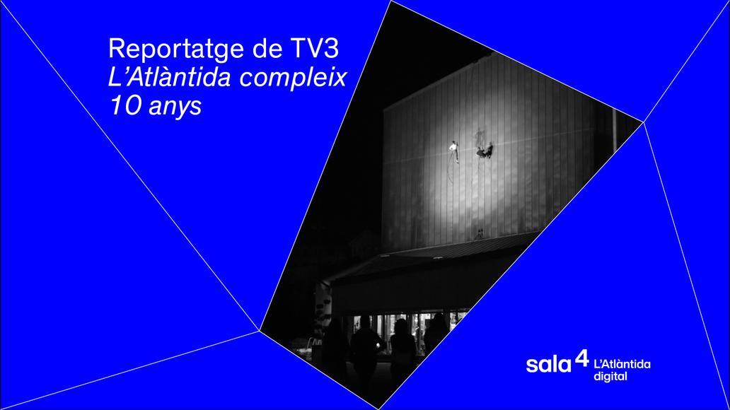 Reportatge a TV3. L'Atlàntida de Vic compleix 10 anys com a equipament cultural singular, que també acull una escola de música
