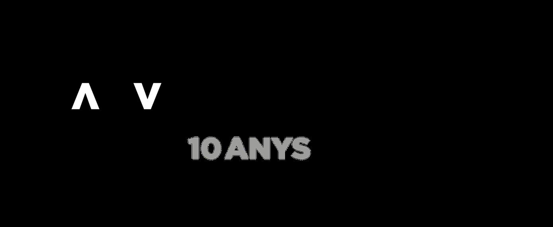 Logo ACVIC 10 anys