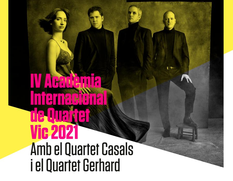 Academia Internacional de Quartet Vic 2021