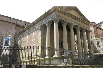 Temple Romà de Vic, és l'emblema del Patronat d'Estudis Osonencs