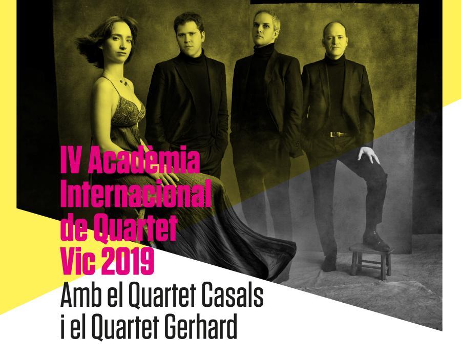 IV Academia Internacional de Quartet Vic 2019