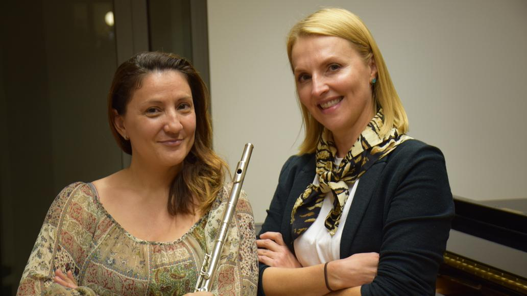 Isabel Moreno i Victoria Katsyuba