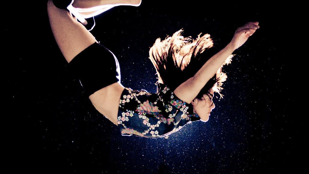 Júlia Ferreiro al trapezi